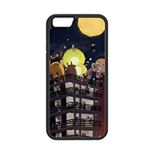 """UNI-BEE PHONE CASE For Apple Iphone 6,4.7"""" screen Cases -Bright Moon-CASE-STYLE 3"""