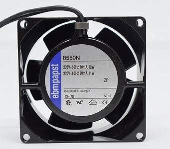 EBM PAPST-Ventilador para cassette,insertable,ventilador axial 80x80x38mm,aspas metálicas,super silencioso: Amazon.es: Bricolaje y herramientas