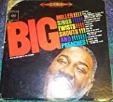 sings, twists, shouts and preaches LP