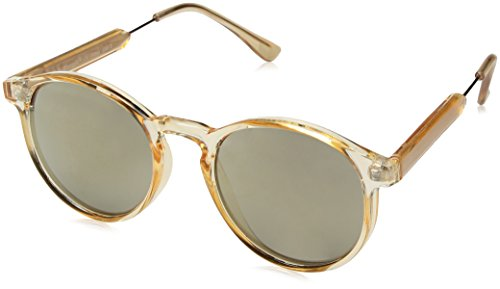 A.J. Morgan Jam Oval Sunglasses, Champagne/Mirror, 50 mm