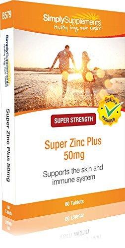 Super zinc plus 50 mg - Ayuda para el sistema inmunitario - 60 comprimidos