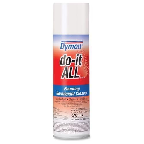 - 08020CT ITW Do-It-All Germicidal Foaming/Disinfectant - Aerosol - 0.16 gal (20 fl oz) - 12 - 12 / Carton - White
