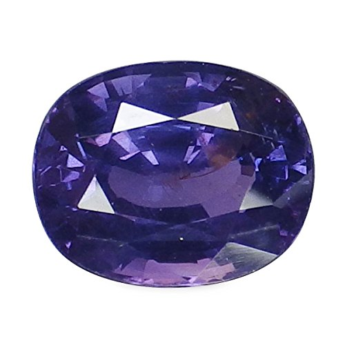 2.32 Ct. Unheated Natural Oval Color Change Purple Blue Sapphire Loose Gemstone (Sapphire Oval Change Color)