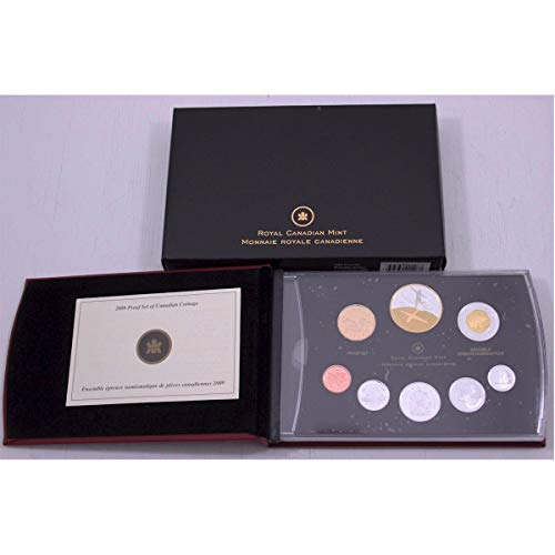 CA 2009 Canadian 100th Anniversary of Flight in Canada Silver Proof Set in Original Packaging and COA