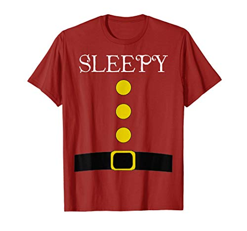 Best Costume Ideas For Halloween 2019 (Red Dwarf Costume T-Shirt - Funny Halloween Gift Idea Sleepy)