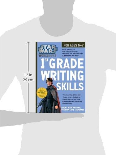 Star Wars Workbook: 1st Grade Writing Skills (Star Wars Workbooks ...