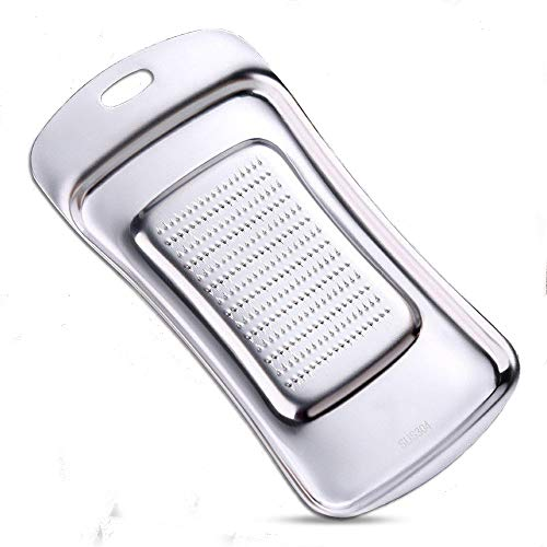 - NPYPQ Ginger Grater, Stainless Steel Kitchen Ginger Graters for Garlic, Fruits and Root Vegetables