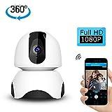 GEEKHOM Home Camera, 1080P Wireless Security Camera, WiFi Indoor Surveillance IP System