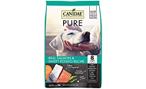 CANIDAE PURE Real Salmon & Sweet Potato Recipe Dry Dog Food 24lbs