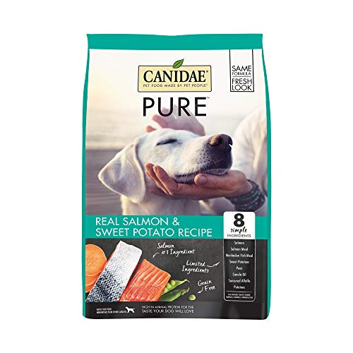 CANIDAE PURE Real Salmon & Sweet Potato Recipe Dry Dog Food 24lbs
