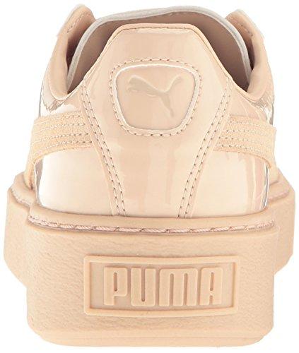 Fashion Platform Basket Women's Patent Puma Sneaker frappe Frappe 1qIgAC
