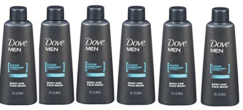 Dove Men + Care Clean Comfort Micro Moisture Mild Formula Bo