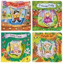 Swing Along Tales ~ Fairy Flora, Princess Polly, Jungle Jim, & Pirate Pete -