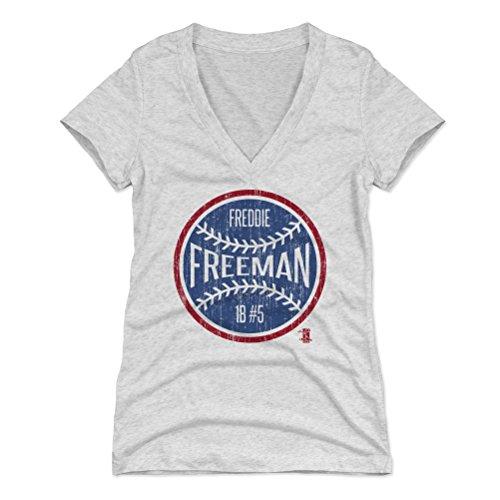 500 LEVEL Freddie Freeman Women's Shirt – Atlanta Baseball Women's Apparel – Freddie Freeman Ball – DiZiSports Store