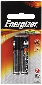 Energizer AAAA Alkaline Battery, 2-Pack