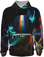 Imagine The Dragons Evolve Teen's Sweatshirts 3D Youth Hoodies Boy's Pullover Sweatshirt Girl&#