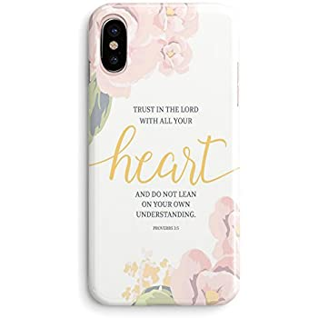 Amazon Com Case For Iphone X Christian Quotes Hungo Compatible Soft