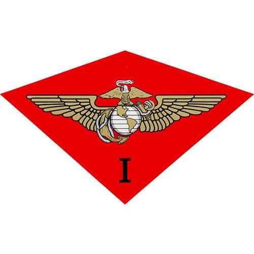 1st Marine Air Wing Clear Decal