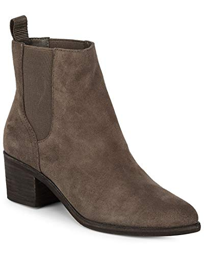 Vita Women's Colbey Chelsea Dolce Grey Suede Boots 6fdBw