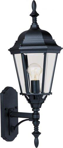 (Maxim Lighting 1003BK, Westlake Cast Outdoor Wall Lantern, Black)