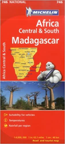 Michelin map africa central south and madagascar 746 mapscountry flip to back flip to front publicscrutiny Choice Image