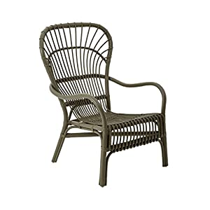 Premier Housewares Patio Steel Modern Reading Chair