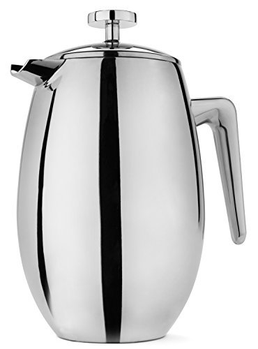 - FP Coffee Maker French Press Coffee Maker w/ Insulated Stainless Steel Carafe: Double walled thermal carafe; 8 cup / 34 oz capacity; great for camping and everyday use