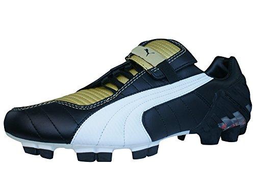 Puma V-kat Iii Cgi Fg Lederen Heren Voetbalschoenen Zwart