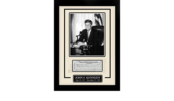NAMEPLATE FOR PHOTO DISPLAY// ANY MEMORABILIA DISPLAY JOHN F PRESIDENT KENNEDY