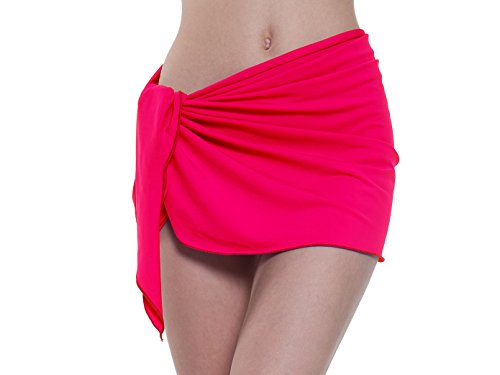 10b1bd6f70 Sythyee Women s Sarong Wrap Beach Swimwear Nylon Cover Up Pareo Bikini  Swimsuit Wrap Skirt Bathing Suit