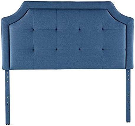 BROOKSIDE Upholstered Scoop-Edge Headboard
