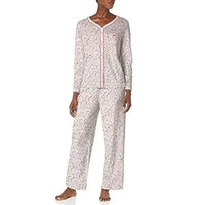 Karen Neuburger Women's Pajamas Long Sleeve Cardigan and Bottom Pj Set