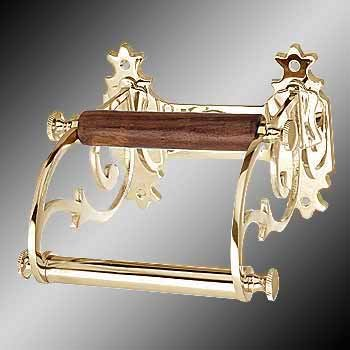 - Art of Décor Home Decor Toilet Paper Holder Antique Solid Brass Victorian Tissue Holder 6723