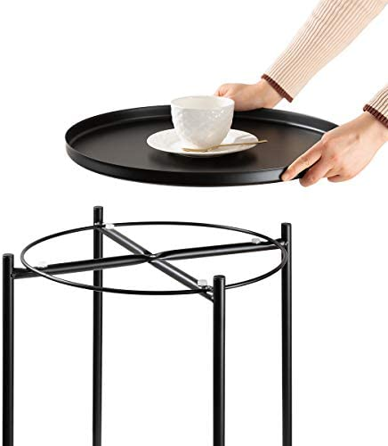danpinera Side Table Round Metal