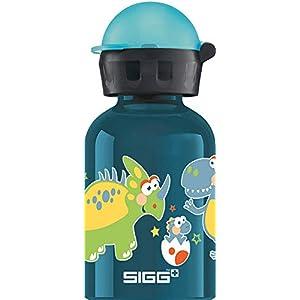 SIGG Gourde pour Enfant 0,3 l sans substances nocives avec Couvercle Anti-Fuite en Aluminium