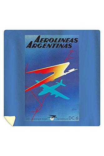 aerolineas-argentinas-vintage-poster-artist-colin-france-c-1950-88x88-queen-microfiber-duvet-cover