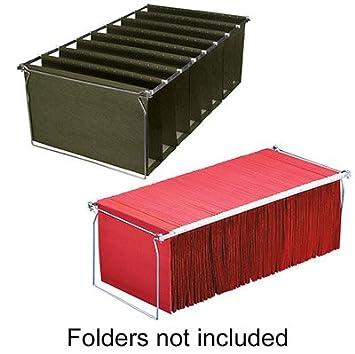 Amazon.com : Metal Hanging File Folder Frame, Letter Size, 4/Box ...