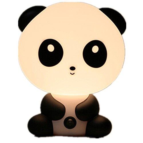 Windspeed Nursery Night Light Cute Night Lamp with Converter - Sleep Assistant (Panda)
