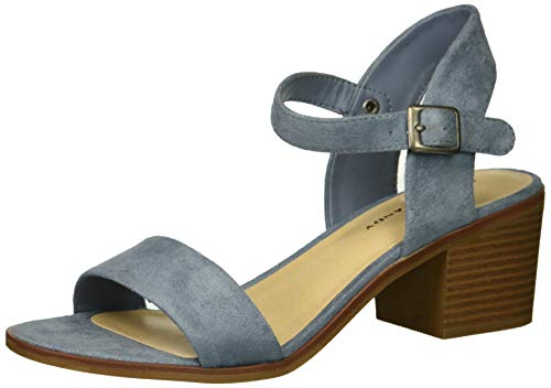 Rock & Candy Women's Roselyn Sandal, Dusty Blue, 7 Medium US -  ZG18091-03-881-7 Medium US
