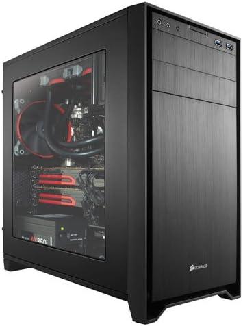 Corsair Obsidian 350D - Caja de PC, Micro-ATX, Ventana Lateral ...