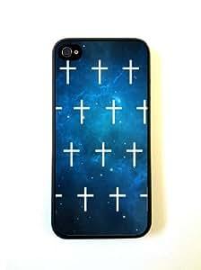 Blue Nebula Mini White Cross iphone 6 plus 5.5 Cover iphone 6 plus 5.5 Case - For iphone 6 plus 5.5 Cov...