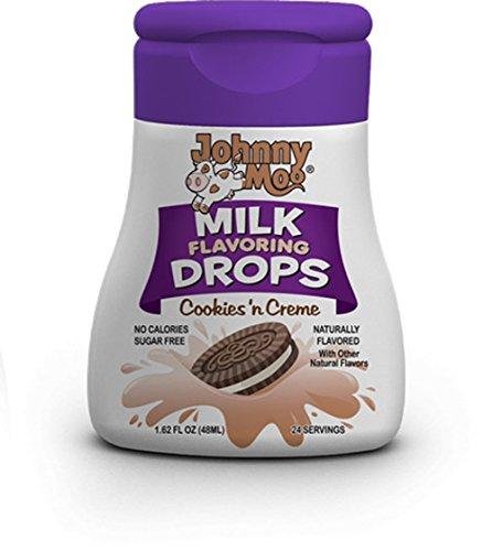 voring Drops, 1.62oz Bottle (Pack of 3) (Choose Flavors Below) (Cookies 'n Cream) (Milk Flavor)