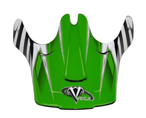 Vega Viper Junior Off-Road Helmet Visor with Kraze Graphic  (Green)