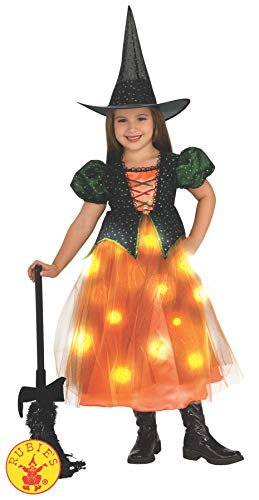Child's Twinkle Witch Costume with Fiber Optic Twinkle Skirt - ()