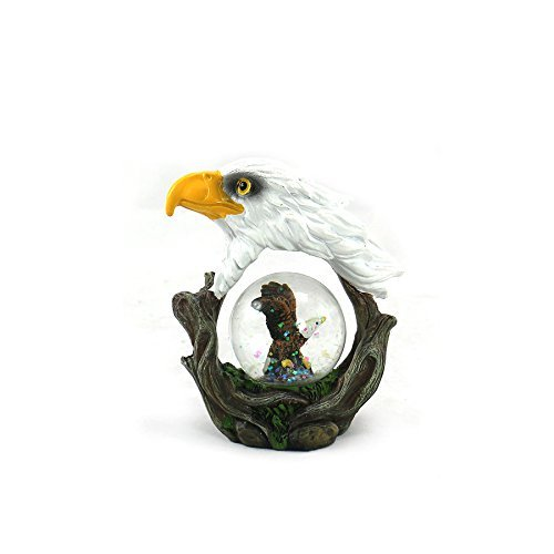 - Animal Wildlife Collection Bald Eagle Waterglobe