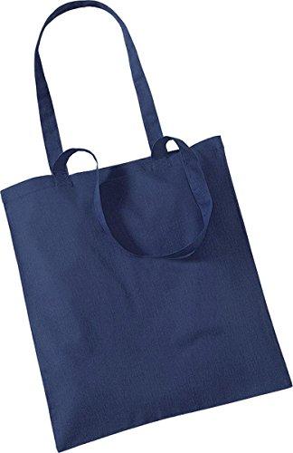 Westford Mill Shopper Handtasche Aufbewahrung Reisetasche Promo Schulter Tasche One Size Blau - Marineblau