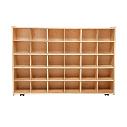 Contender C16039F-C5 30 Tray Storage without Trays, Assembled w/Casters