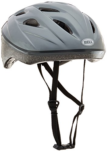 Bell Adult Reflex Helmet, Solid Light Titanium