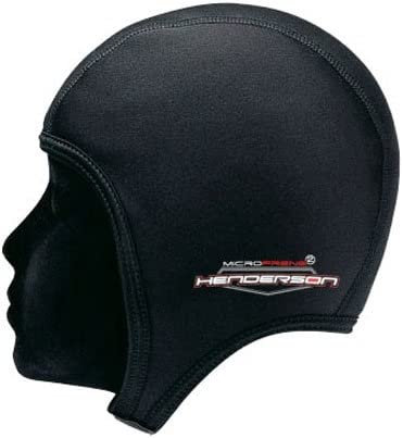 Akona 2mm Neoprene Beanie Cap Size XLarge Black Scuba Dive Swimming Surfing Gear
