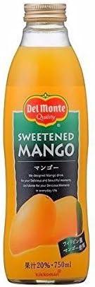 デルモンテ マンゴー (果汁20%) 750ML 1本